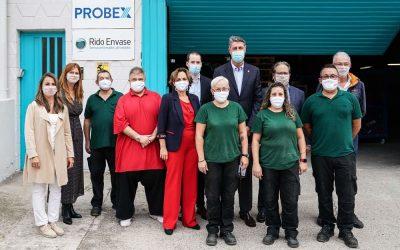 El alcalde de Badalona visita Probex