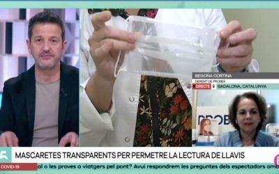 El canal de televisión balear IB3 habla con Probex
